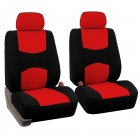 Car Front Seat Cover Red