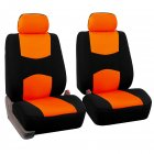 Car Front Seat Cover Orange