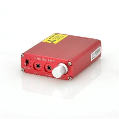 Portable 1500mW Headphone Amplifiers