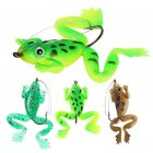 5 2G 6CM Simulate Soft Frog Lure Bait with Hook Artificial Bait Fishing Tackle Accessories 4PCS Set