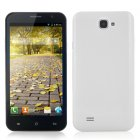 5 3 Inch Quad Core Android Phone uses a MTK6589 1 2GHz CPU as well as having 3G connectivity   and an 8 Megapixel Camera