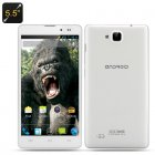 5 5 Inch IPS Android 4 2 Smartphone has a MTK6589 Quad Core CPU  a 5MP Rear Camera and a 2MP Front Facing Camera