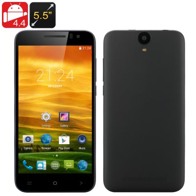 5.5 Inch Android 4.4 Smartphone (Black)