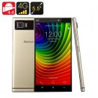 5 5 inch smartphone with HD display  Snapdragon processor  13MP camera  and high speed 4G network