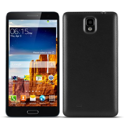 Octa-Core Android Phone 'Note3' (Black)