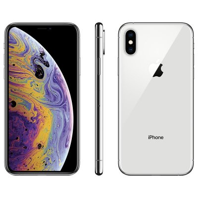 Apple IPhone XS 4G LTE Phone Silver_256GB