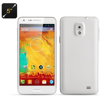 5 Inch Octa Core Phone 'Note 3 Mini' (White)