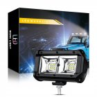 5 Inch Car LED Work Light 18 LED Driving Spotlight Off Road Vehicle White light