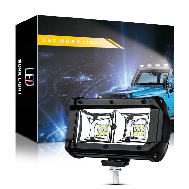 5 Inch Car LED Work Light 18 LED Driving Spotlight Off-Road Vehicle White light