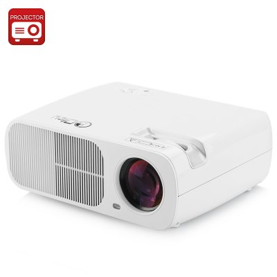 LED Projector 'Saturn' (White)