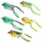 5 PCs Soft Bait Hollow Frog Fishing Lures