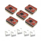 5 Pcs A4988 Driver Module StepStick Stepper Motor Driver for 3D Printer