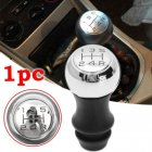 5 Speed Chrome MT Gear Shift Knob