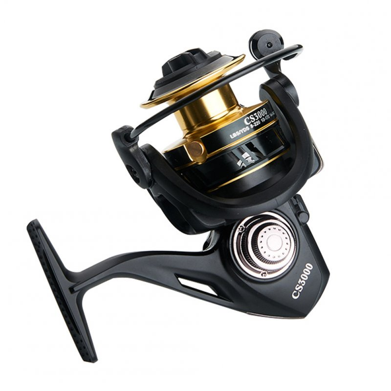 5 axis No-clearance Rotating Fishing Reel Sealed-bearing Spinning Wheel Reel  CS2000