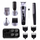5 in 1 Men Beard Trimmer Black US plug