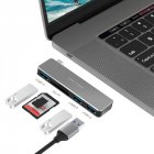 5-in-1 USB3.0 Hub Type-C Adaptor Card Reader for Laptop PC Mobile HDD Flash Drive USB3.0 HUB