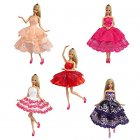 5 set of Handmade Dresses Clothes doll