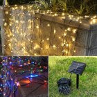 50 LED Solar Power String Light Christmas Fairy Lights Waterproof Outdoor Garden Xmas Tree Decor Lamp