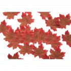 50 PCS/Set Simulation Maple Leaves for Wedding Party Festival Decoration Photo Props... No. 1 coffee (50 pieces)