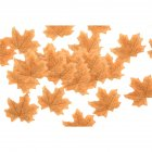 50 PCS/Set Simulation Maple Leaves for Wedding Party Festival Decoration Photo Props... No. 2 yellow (50 pieces)