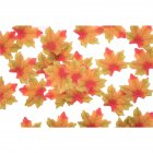 50 PCS/Set Simulation Maple Leaves for Wedding Party Festival Decoration Photo Props... No. 8 green edge yellow (50 pieces)