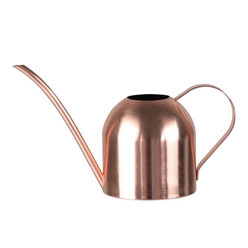 500ML Stainless Steel Long Mouth Watering Can Kettle for House Plant Indoor Outdoor  Rose gold