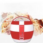 500W 220V 3L Ball-shape Electric Cooker with Thickened Aluminum Alloy U-Shape Inner Container