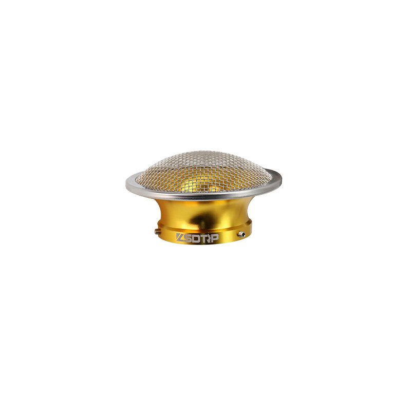50mm Motorcycle Air Filter Wind Horn Cup Alloy Trumpet with Guaze for PWK28/30mm PE 28/30mm Carburetor 50mm gold