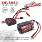540 Brushed Motor 11T/13T/16T/20T 60A RC ESC Combo Set for Remote Control Redcat Volcano EPX Blackout XTE Traxxas TRX-4 16T KSY0059