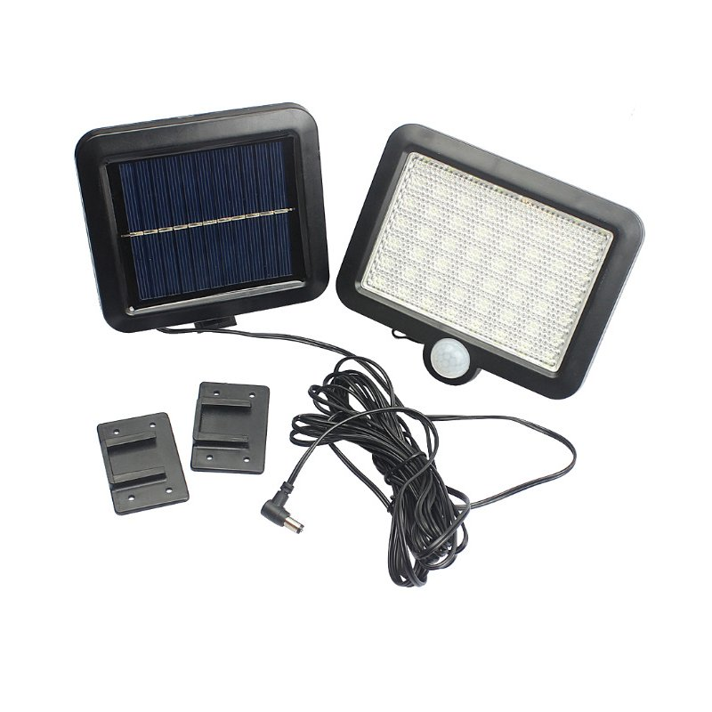 56LEDs Outdoor Waterproof Motion Sensor Solar Lamp for Garden Landscape