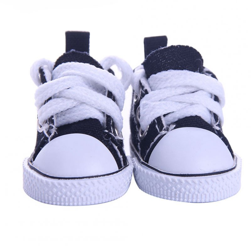 Denim Canvas Mini Toy Shoes 1/6 Shoes