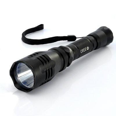 550W CREE LED Flashlight w/ Side Charging