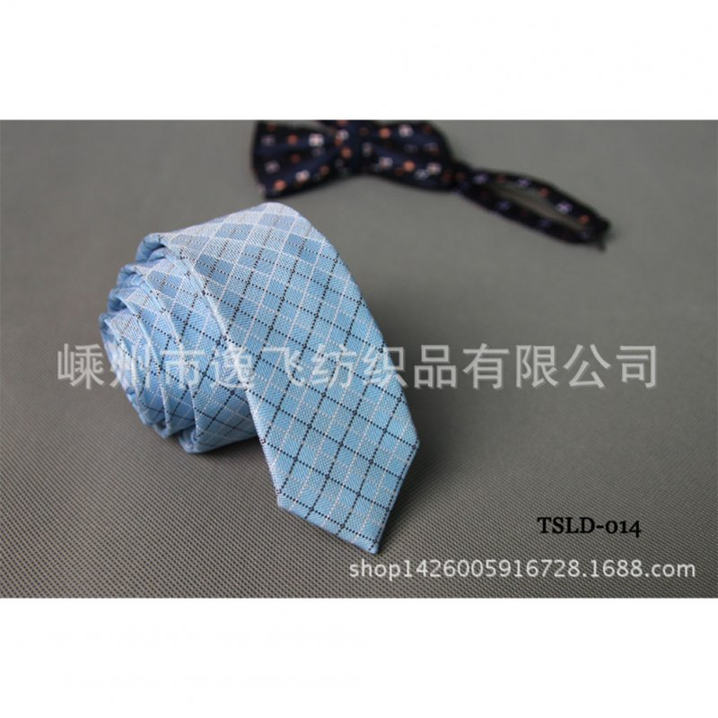 5cm Skinny Tie Classic Silk Solid Dot Narrow Slim Necktie Accessories Wedding Banquet Host Photo TSLD-014