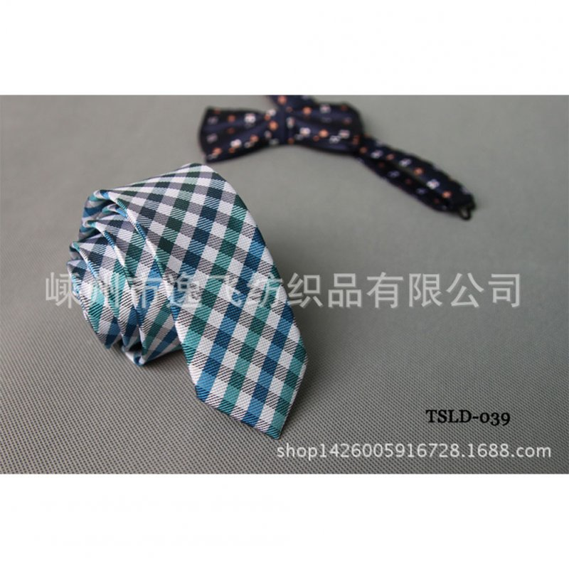 5cm Skinny Tie Classic Silk Solid Dot Narrow Slim Necktie Accessories Wedding Banquet Host Photo TSLD-039