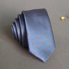 5cm Skinny Tie Classic Silk Solid Dot Narrow Slim Necktie Accessories Wedding Banquet Host Photo TSLD-026