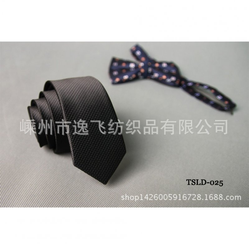5cm Skinny Tie Classic Silk Solid Dot Narrow Slim Necktie Accessories Wedding Banquet Host Photo TSLD-025