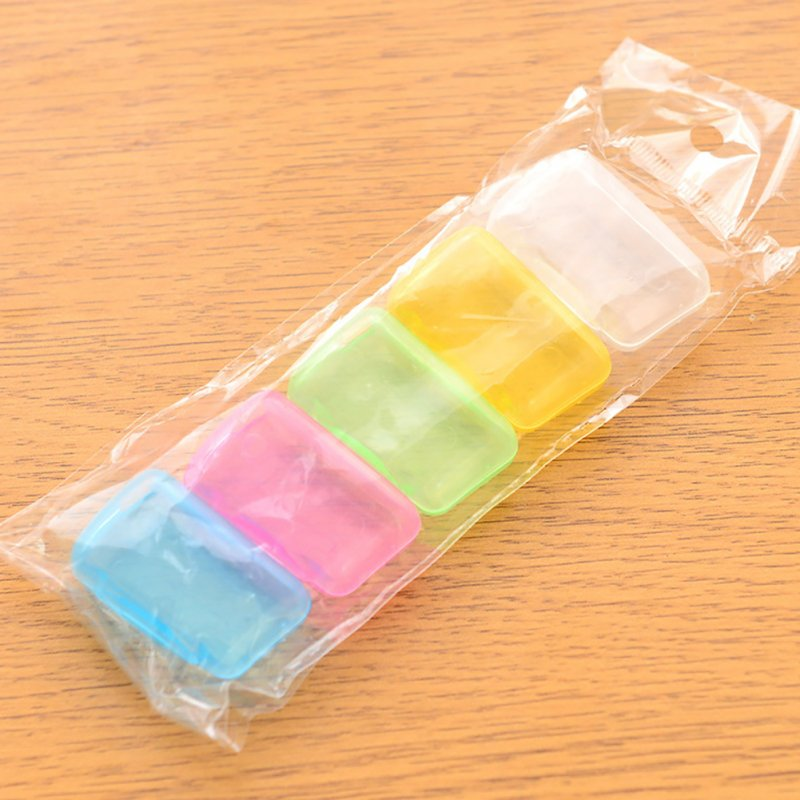 5pcs Portable Travel Tooth Brush Cleaner