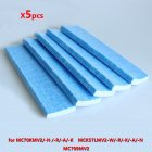 5pcs/set Air Purifier Parts Filter for DaiKin MC70KMV2 MCK57LMV2 Air Filter Element 5 packs