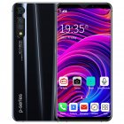 6.1inch Full Screen P41 Pro Mobile Phone 13MP + 18MP Front Rear Camera 8G+128G Dual SIM 10 Core Phone Glamour black_U.S. plug
