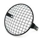 6.5 inch Motorcycle Universal Vintage Headlight Protector Retro Grill Light Lamp Cover Square net cover
