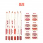 6 Colors Lip Liner Waterproof Long Lasting Lipstick Lipliner Pencil Pen A