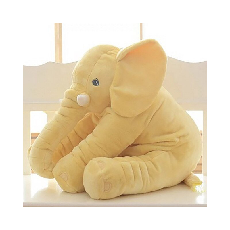 60 cm Baby Crib Elephant Plush Toy ,5 Colors Option Stuffed Elephant Pillow Newborn Cushion Doll Bedding For Adults Kids Toys