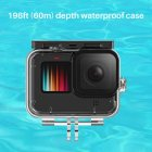 60M Waterproof Case diving Case for Ulanzi G9-7 Gopro Hero 9 Underwater Shot Housing Case Cage Accessories Transparent