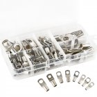 60Pcs Copper Tube Terminals Battery Welding Cable Lug Ring Crimp Connectors Kit(Box Packing) 60 sets