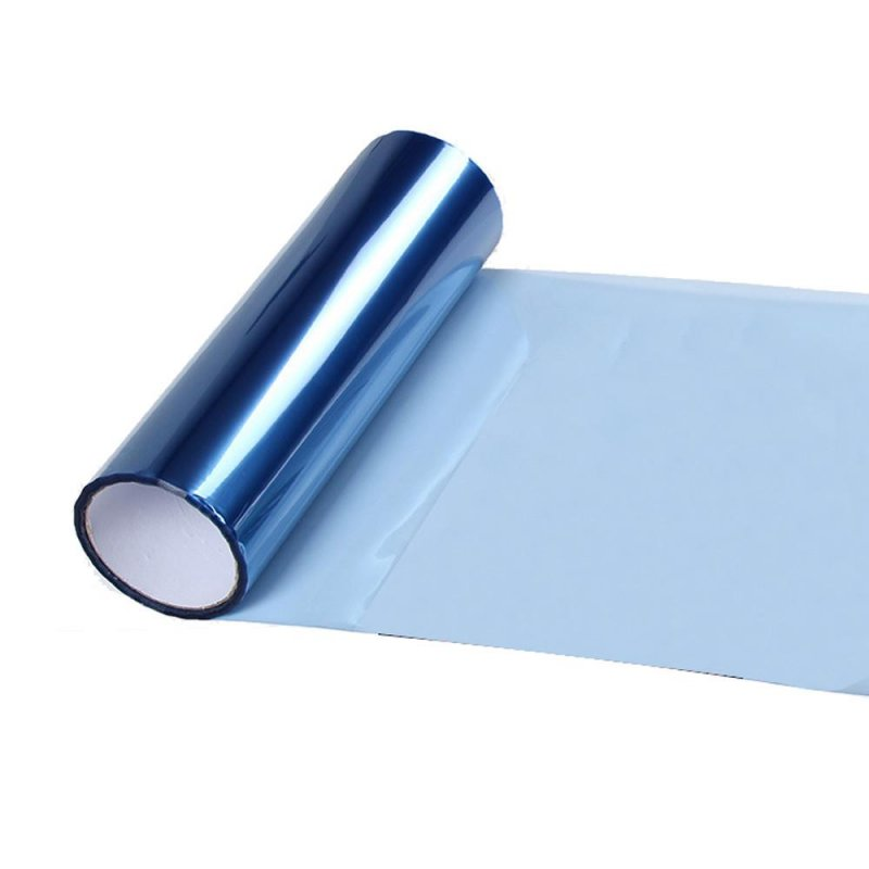 60x30cm Car Light Sticker Light Blue