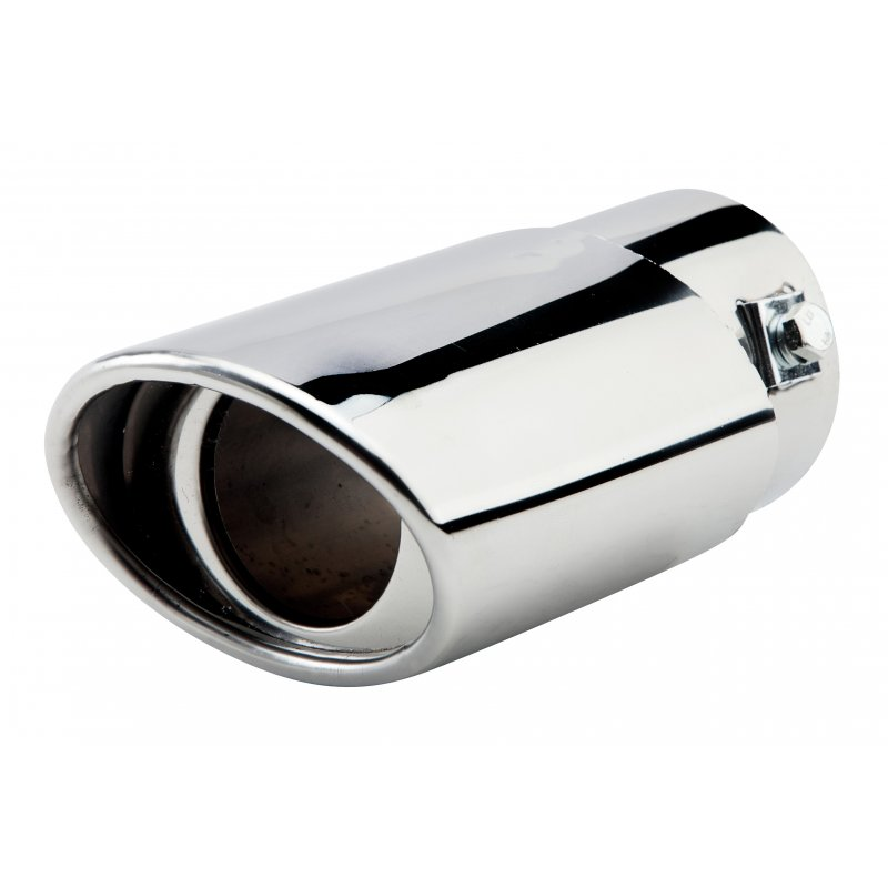 63mm Inlet Diameter Stainless Steel Car Exhaust Muffler Pipe Modified Tail Throat A146