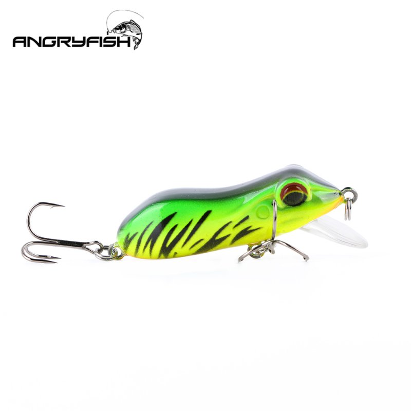 65mm10g Fishing Bait Long Distance Lures Baits for Snakehead Weever green