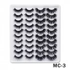 6D Mink False Eyelashes Handmade Extension Beauty Makeup False Eyelashes MC-3