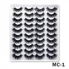 6D Mink False Eyelashes Handmade Extension Beauty Makeup False Eyelashes MC-1