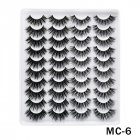 6D Mink False Eyelashes Handmade Extension Beauty Makeup False Eyelashes MC-6